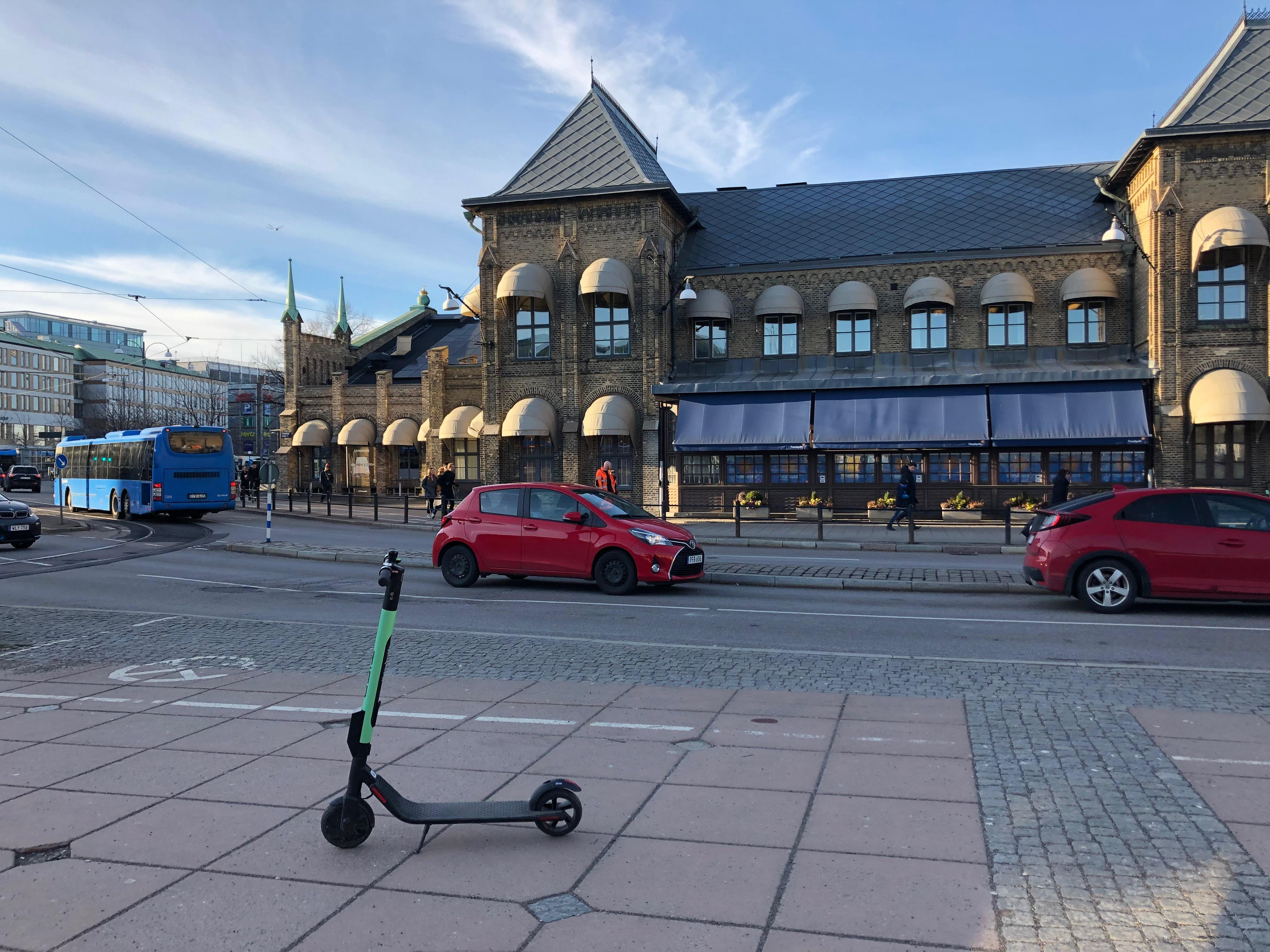 smart mobility consumer cleantech scooter