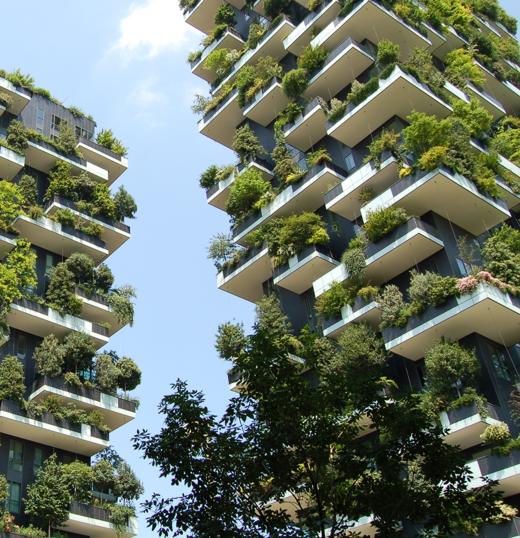 Green building in a smart city