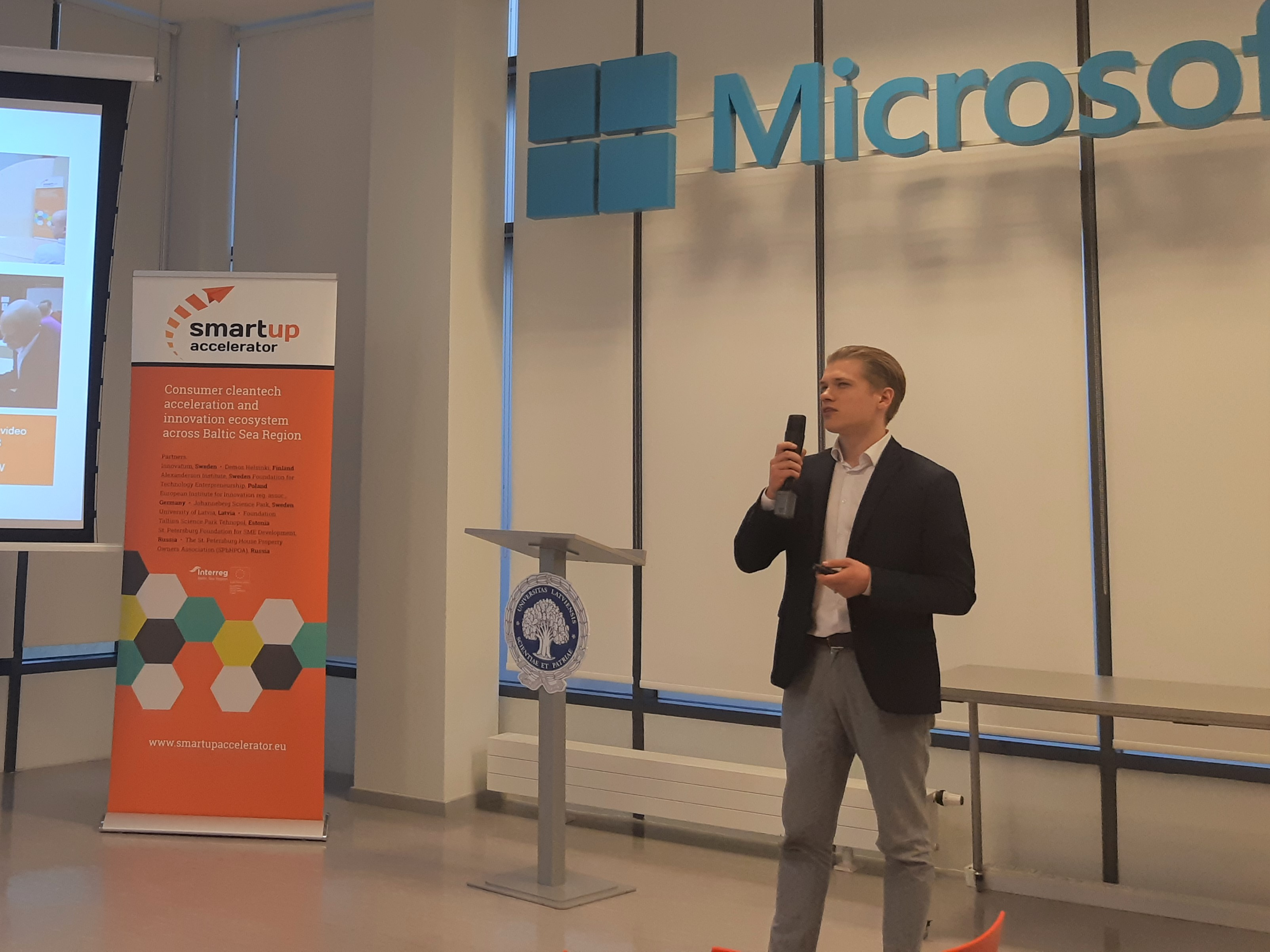 Karlis Kivlenieks shares experiences from last year's SmartUp bootcamp in Gothenburg. In 2019, the bootcamp for smart mobility solutions will be held in Riga!